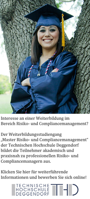 Master Risiko und Compliancemanagement